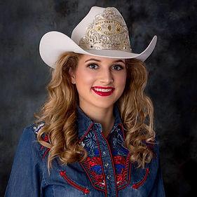Miss Teen Rodeo Illinois Fait Robbins