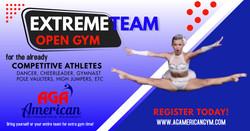 Extreme Team Open Gym