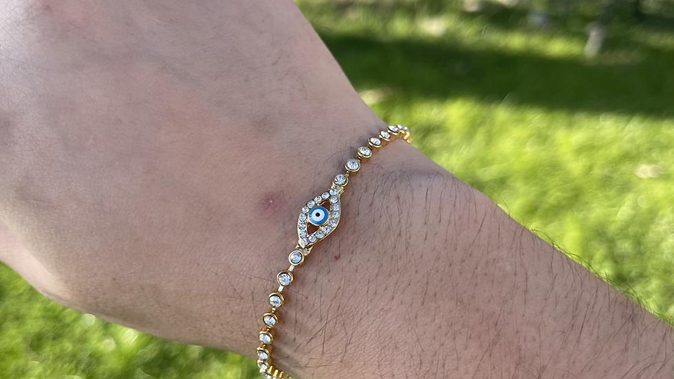 Ojo tennis bracelet