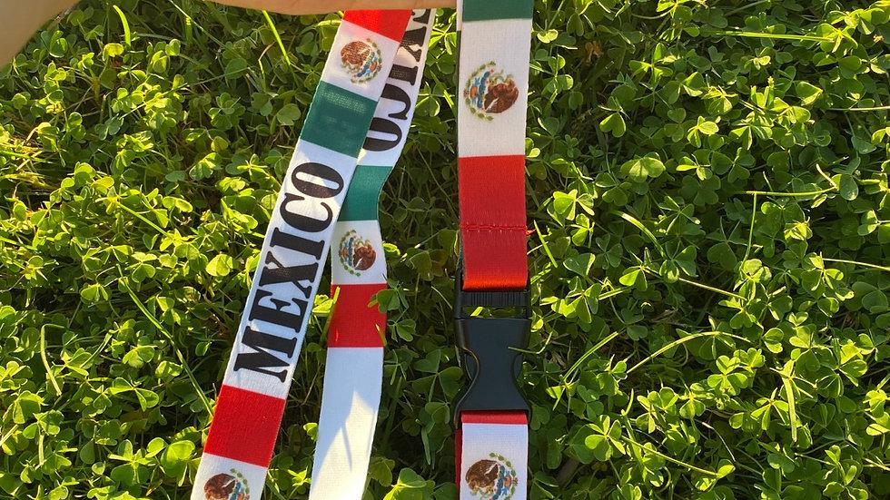 Mexico Lanyard