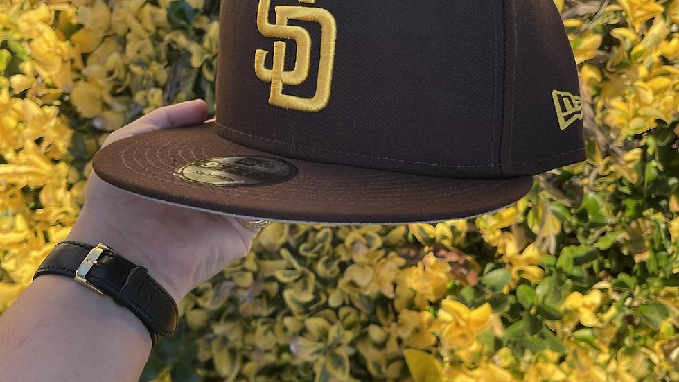 San Diego Padres Brown SnapBack