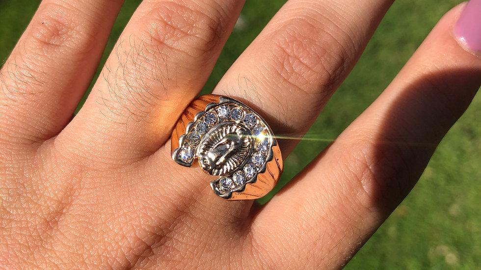 Virgencita Brillando Ring