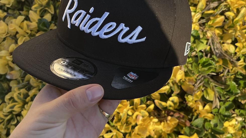 Raiders Throwback SnapBack
