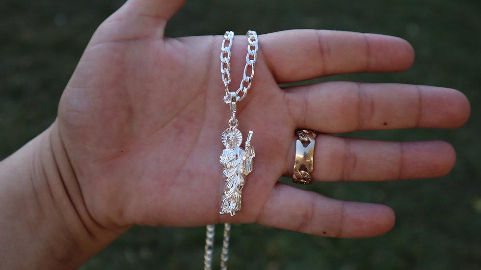 San Judas silver