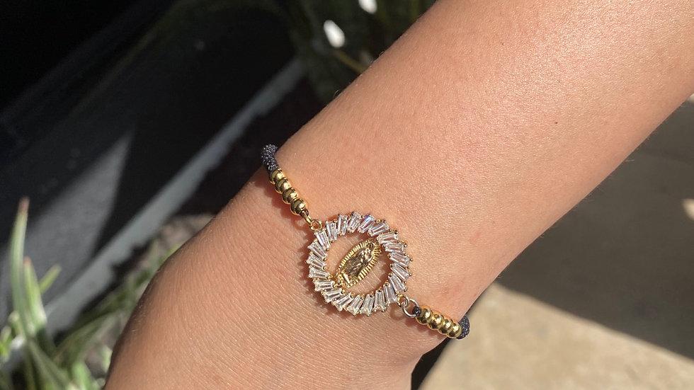 Virgencita brillando bracelet