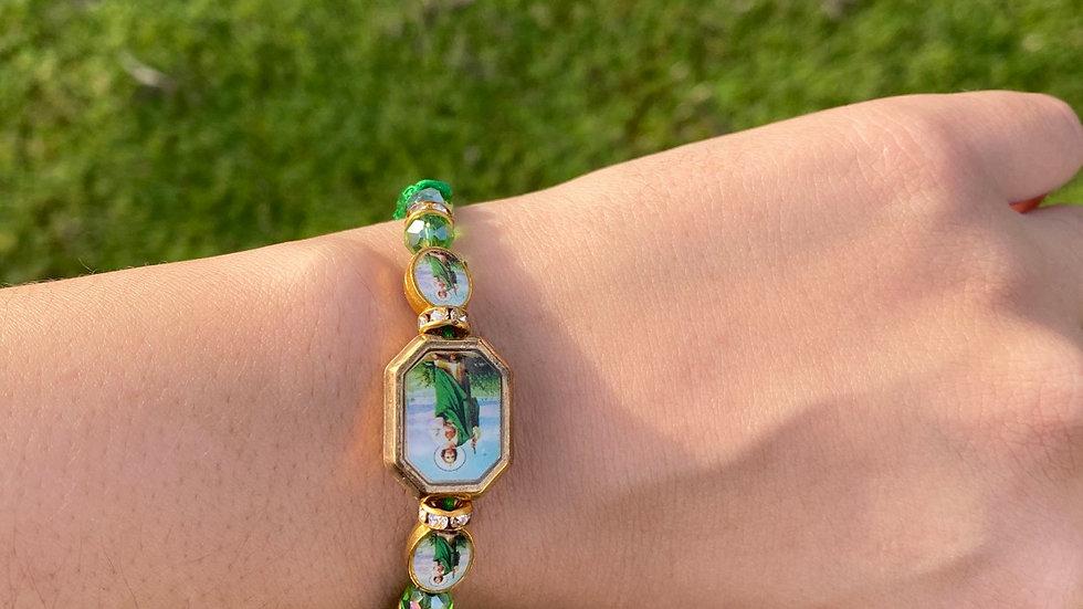 San Judas Adjustable bracelet