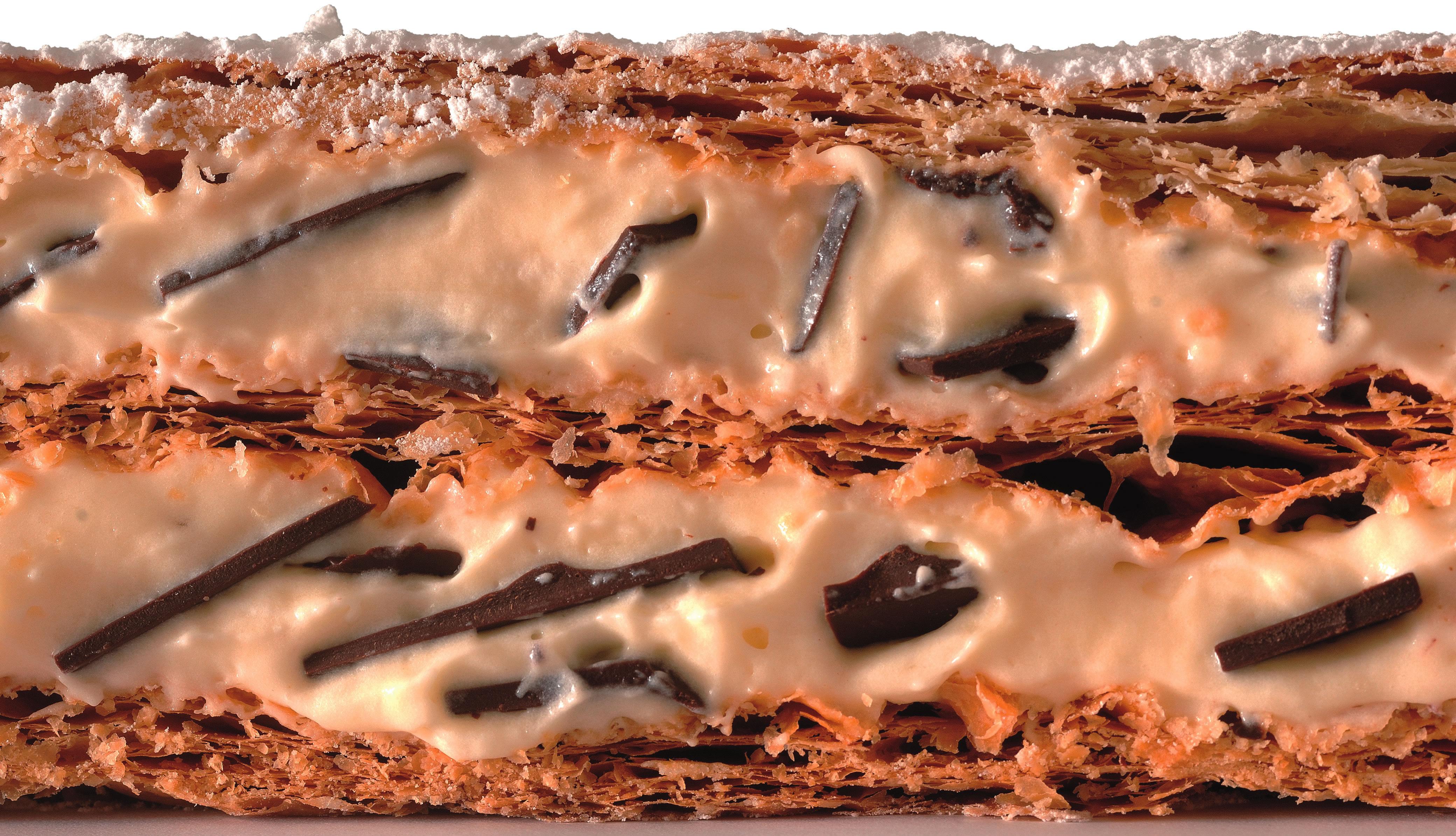 millefoglie cioccolato fondente