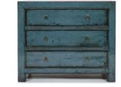 blue 3 drawer