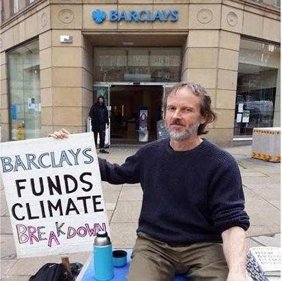 BARCLAYS SOLO PROTEST
