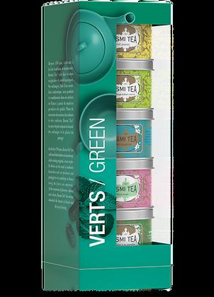 Coffret les Verts, Kusmi Tea.