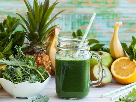 Smoothie vert, la green attitude 😏