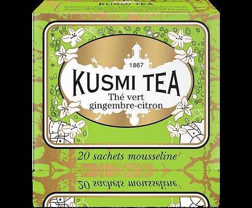 Thé vert Gingembre citron, Kusmi Tea à partir de