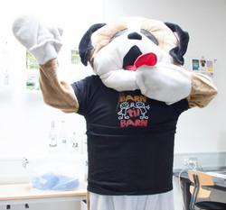 Vores maskot bamsebjørn