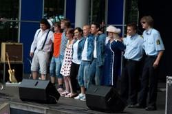 Optræden på scenen