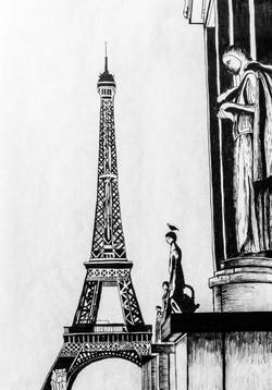 Paris -  - Eiffel Tower