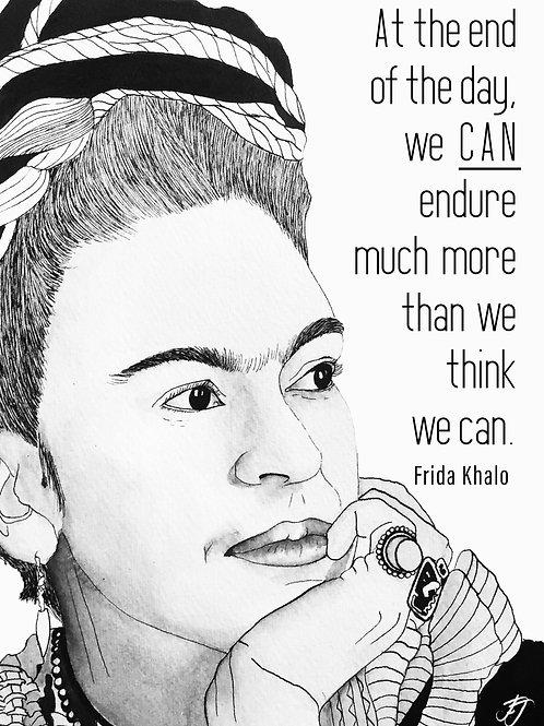 Frida Khalo: Print A5