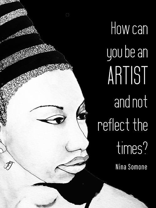 Nina Simone: Print A5