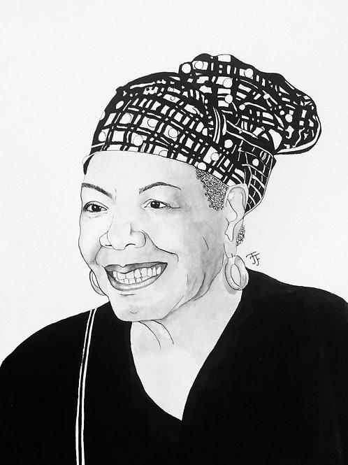 Maya Angelou: Print