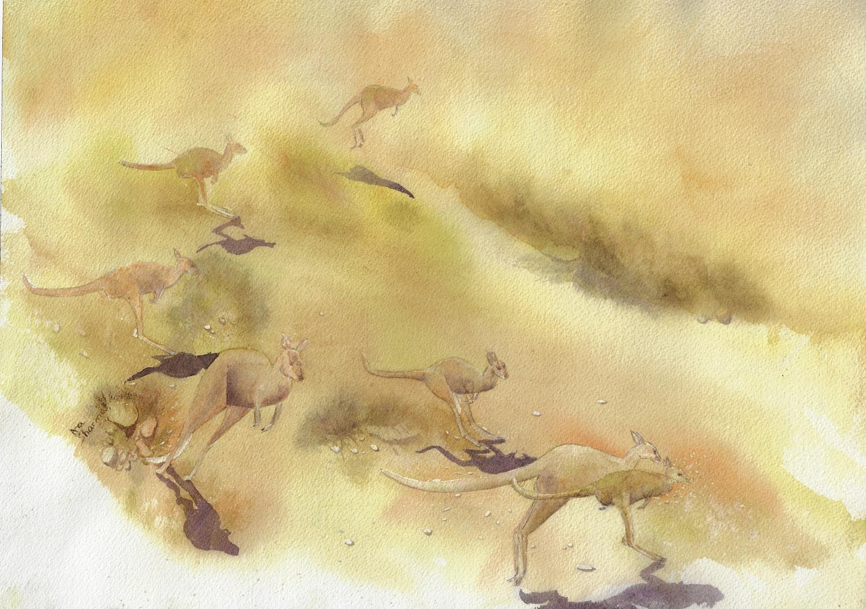 Dust Storm Escape