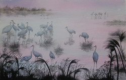 SOLD - Bosque del Apache at Sunset