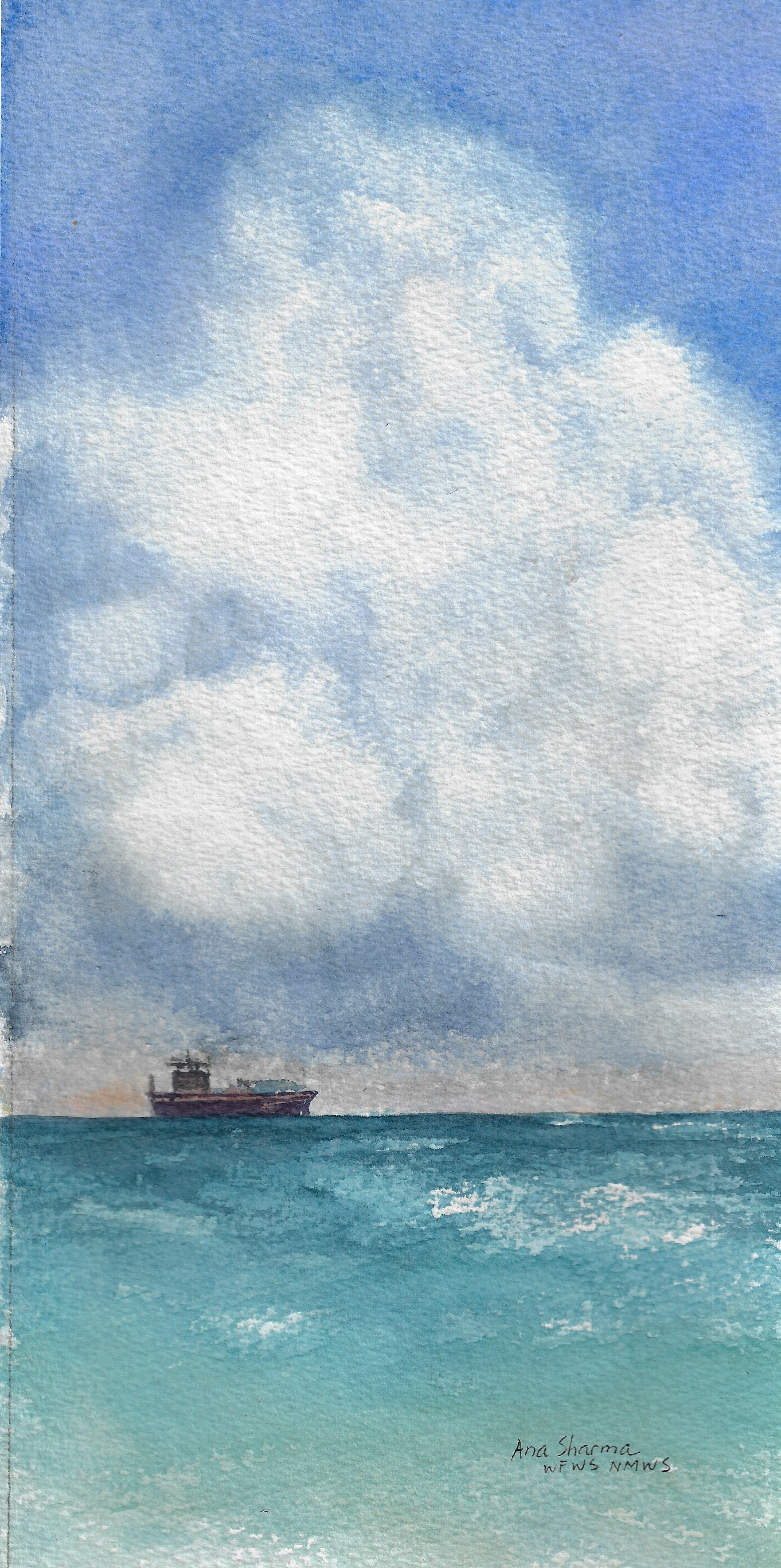 Sea & Sky of Galveston I