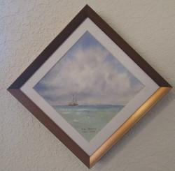 Diagonal Miniature - Sea & Skies of Galveston II
