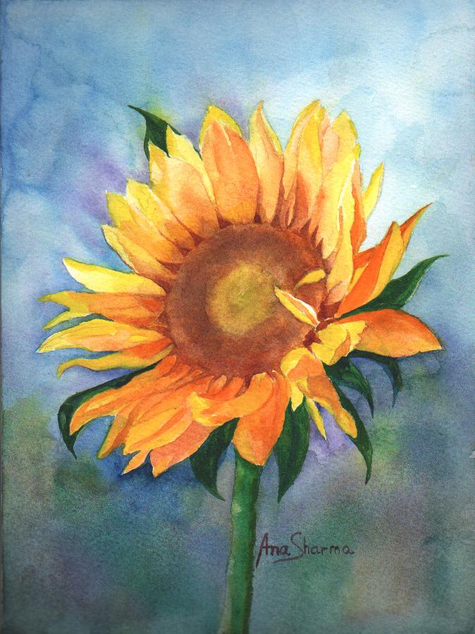 SOLD - Sunflower II