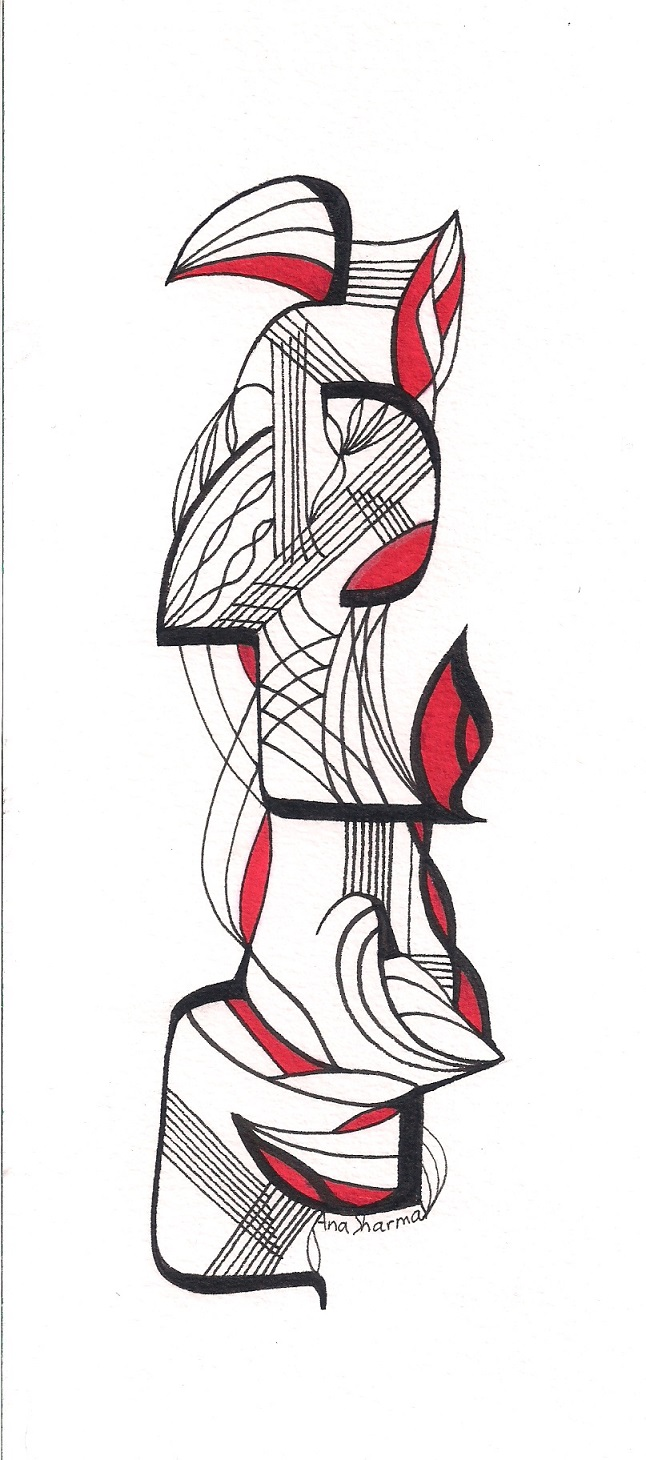 SOLD - Bird Totem