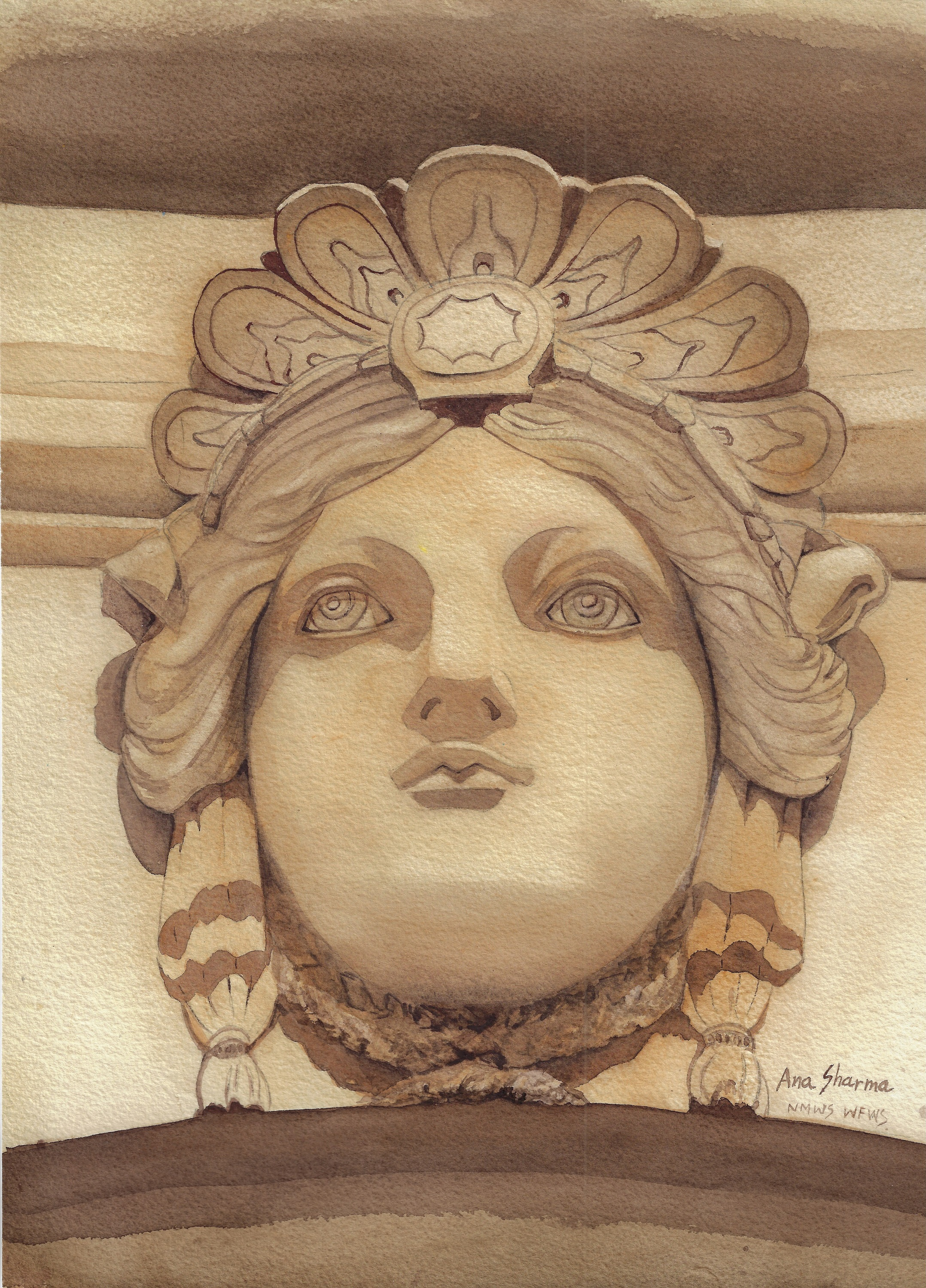 Eternal Faces of Versailles