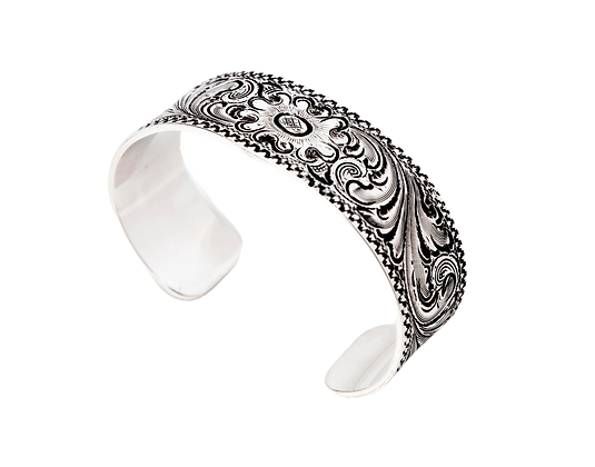 Engraved Cuff- wide