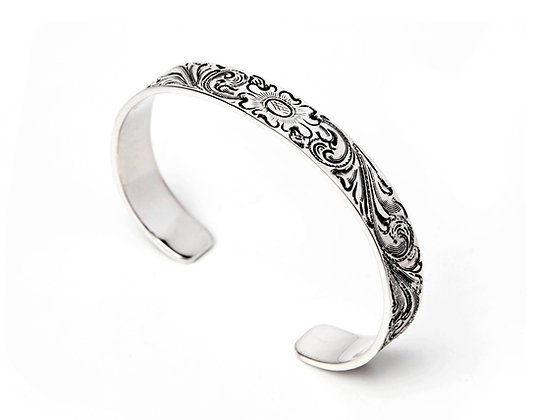 Engraved Cuff- narrow