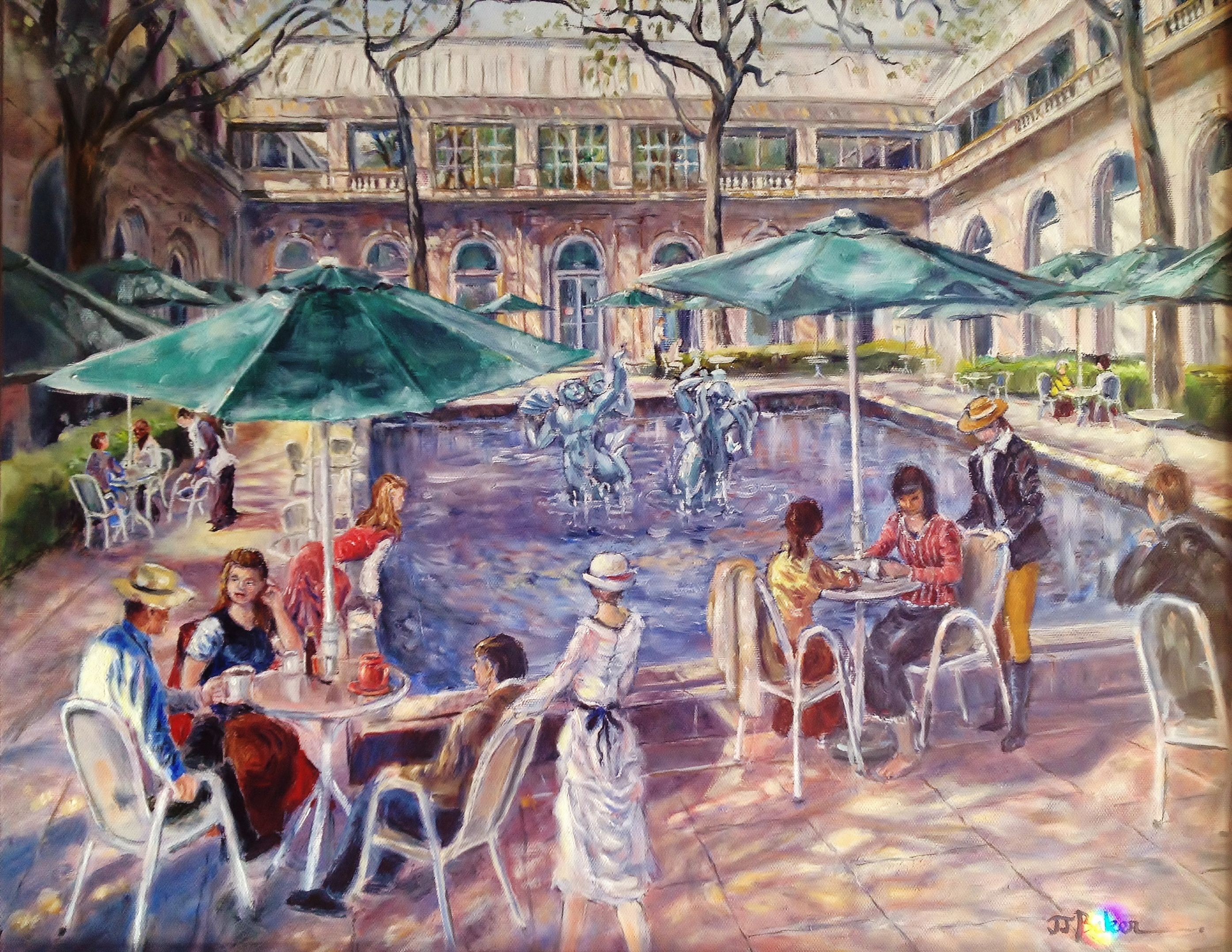 Cafe at the Art Institute of Chicago