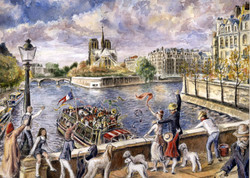 Funeral on the Seine