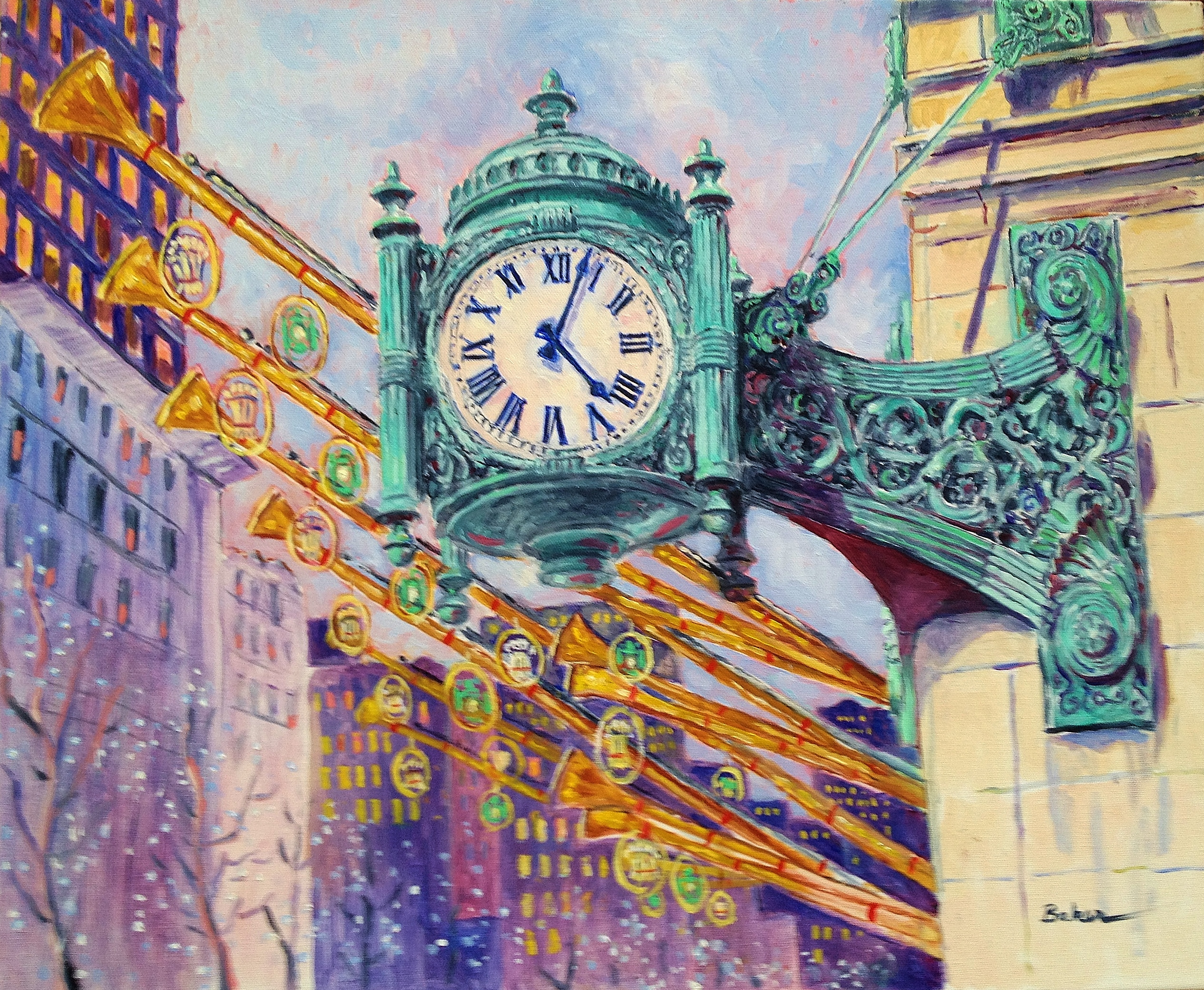 Marshall Fields Clock