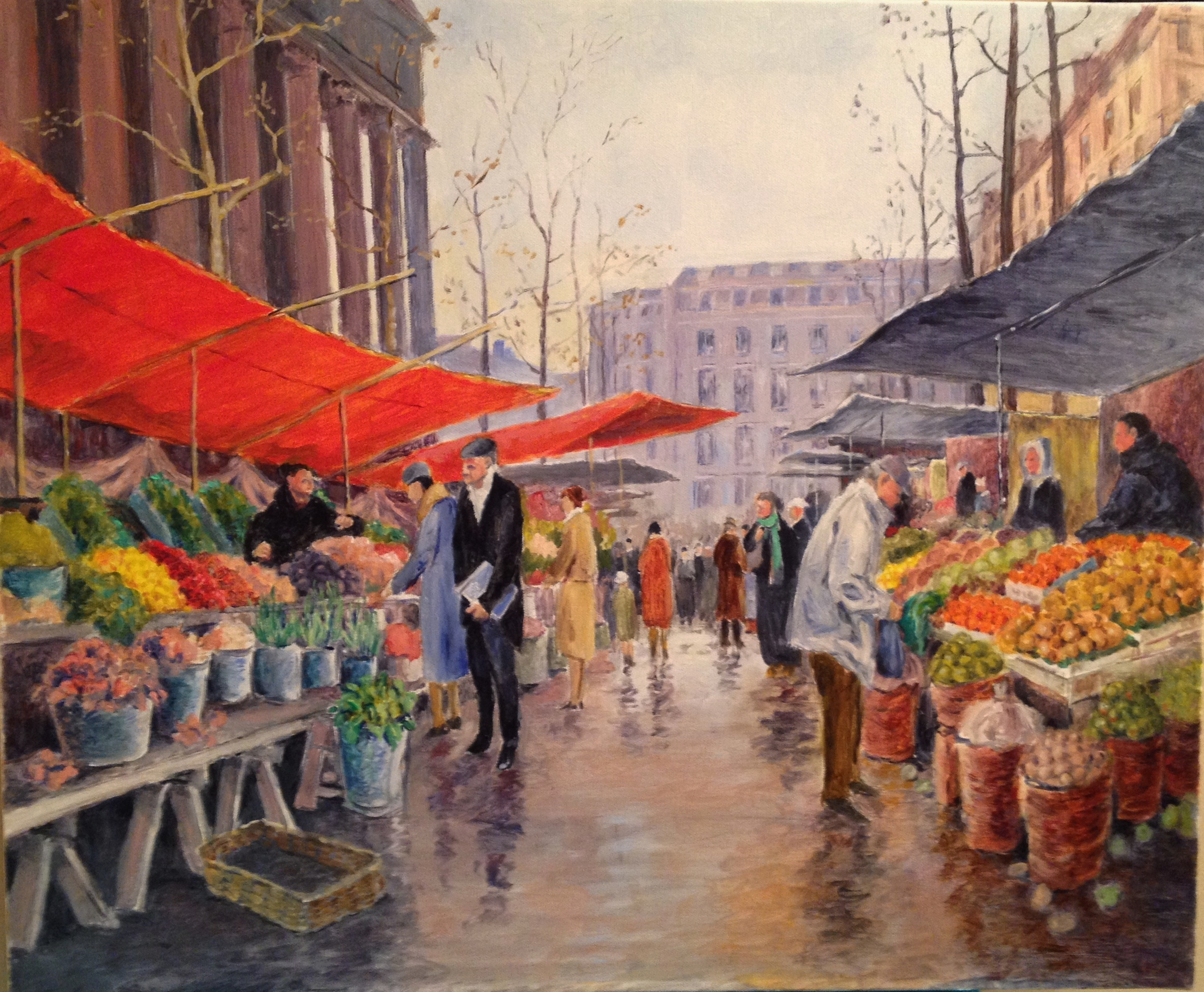 Outdoor Market, Paris