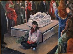 Girl at the Orsay