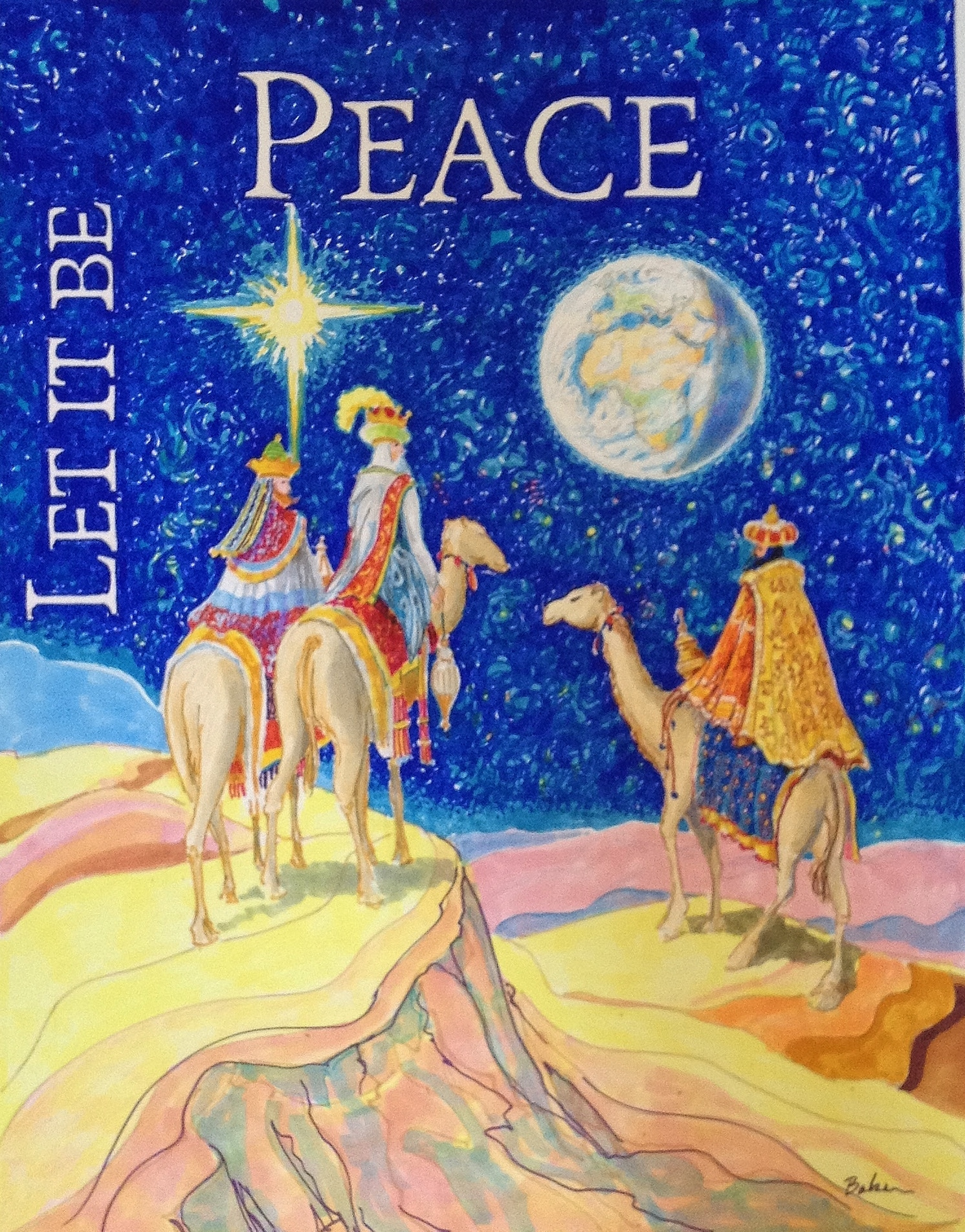 Let it be Peace