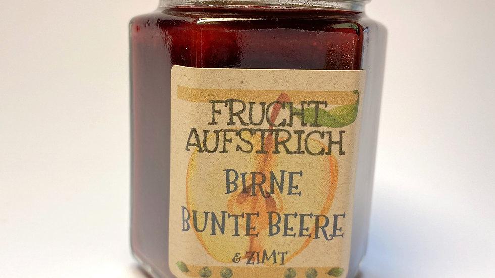 Birne- Bunte Beere & Zimt