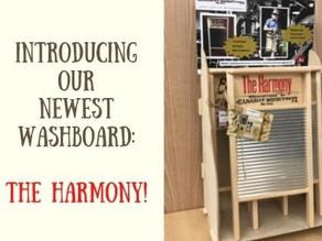 New Washboard - The Harmony!