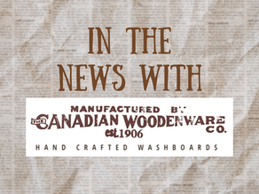 Canadian Woodenware in the News