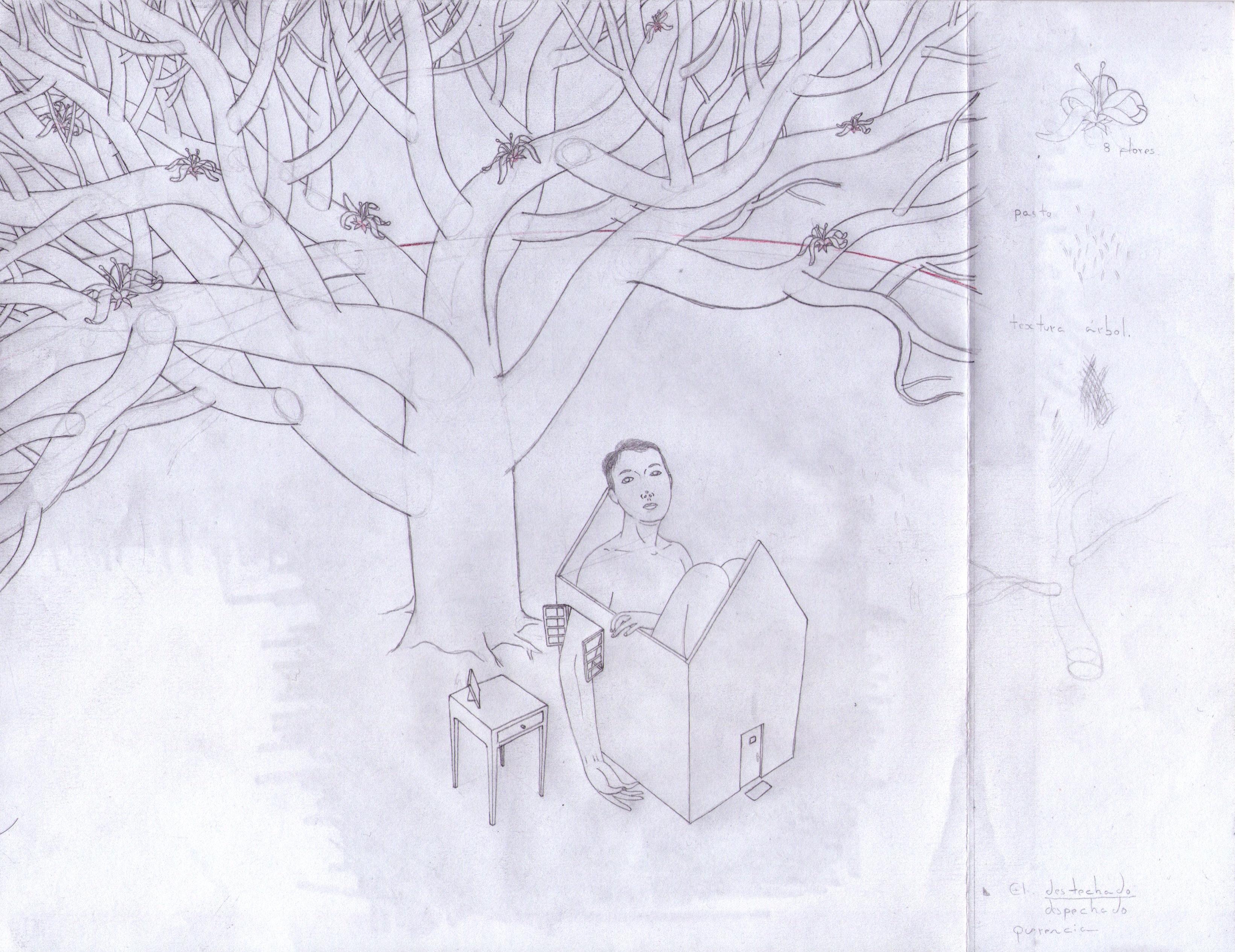 Refugio (1.2 Boceto)