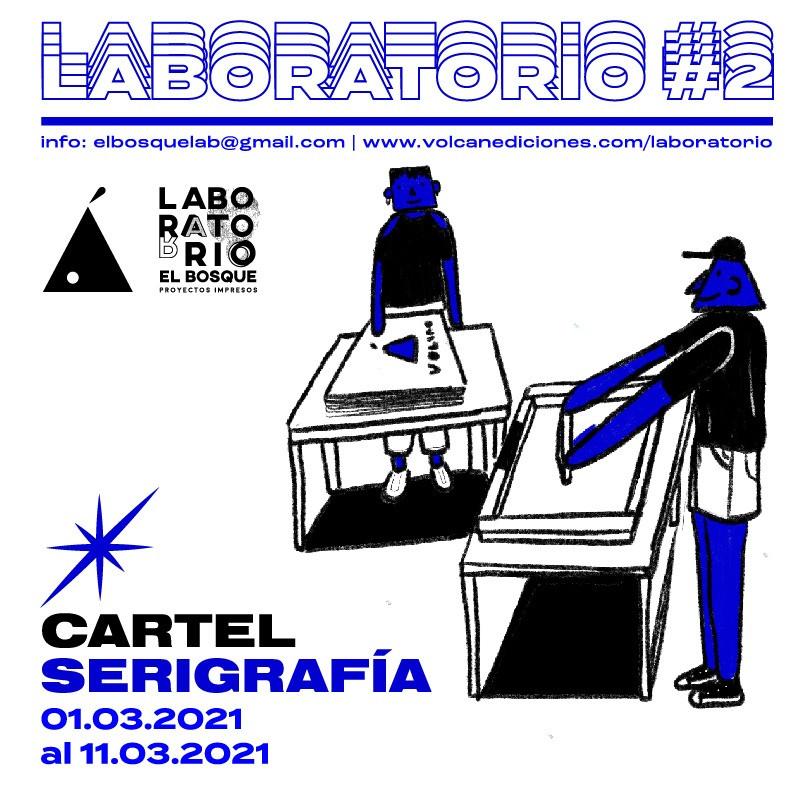 LABORATORIO#2: CARTEL SERIGRAFÍA