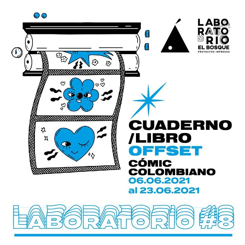 LABORATORIO#8: CUADERNO/LIBRO OFFSET COMIC COLOMBIANO