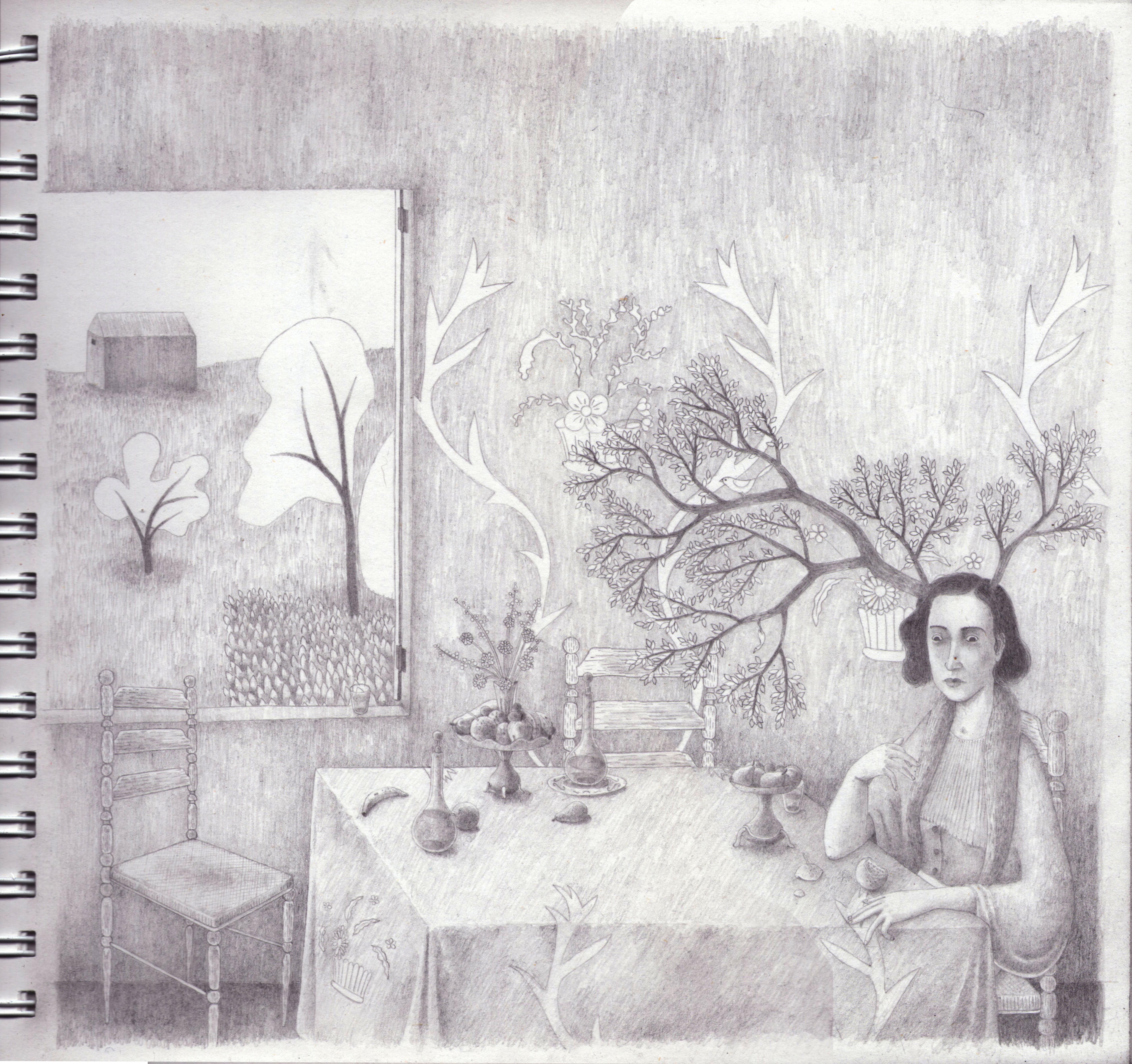 Pieza breve (2 Dibujo)