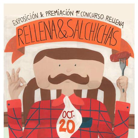 RELLENA Y SALCHICHAS