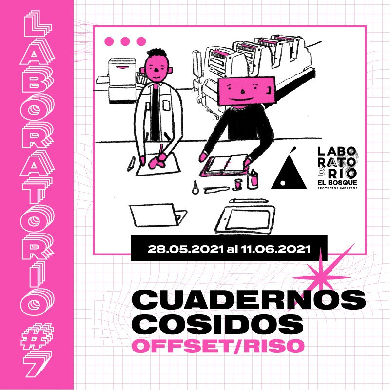 LABORATORIO#7: CUADERNOS COSIDOS OFFSET/RISO