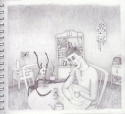Una_tarde_después_(2_Dibujo)_