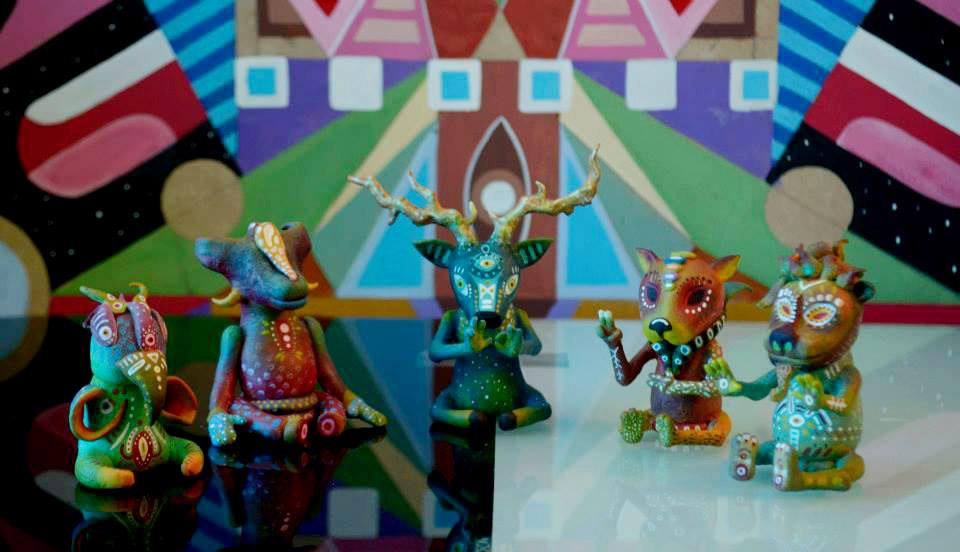 Espiritus del bosque art toys