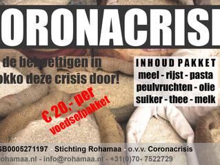 Coronacrisis voedselpaketten Marokko