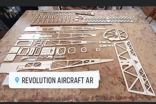 Stick Revolution 30cc - Kit para montar